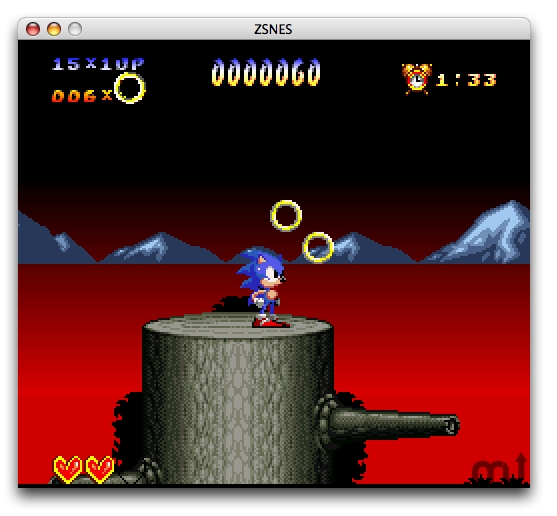 Screenshot 1 for ZSNES