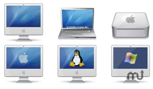 Screenshot 1 for Mac Intel Family Icons