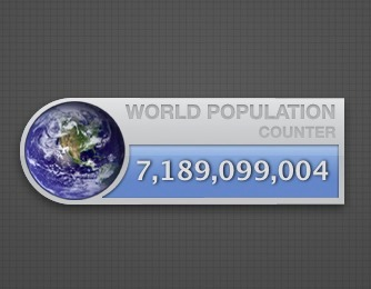 Screenshot 1 for Population Counter