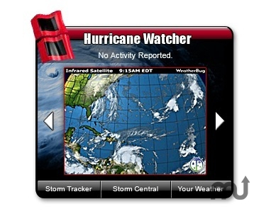 Screenshot 1 for WeatherBug Hurricane Watcher