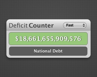 Screenshot 1 for Deficit Counter