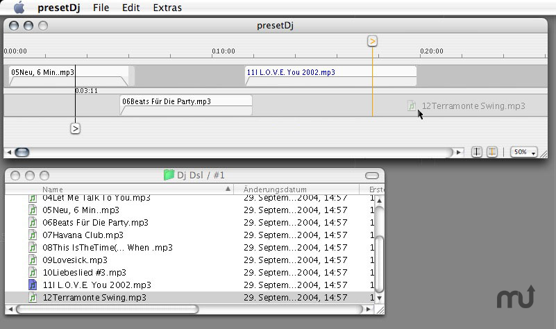 Screenshot 1 for presetDj