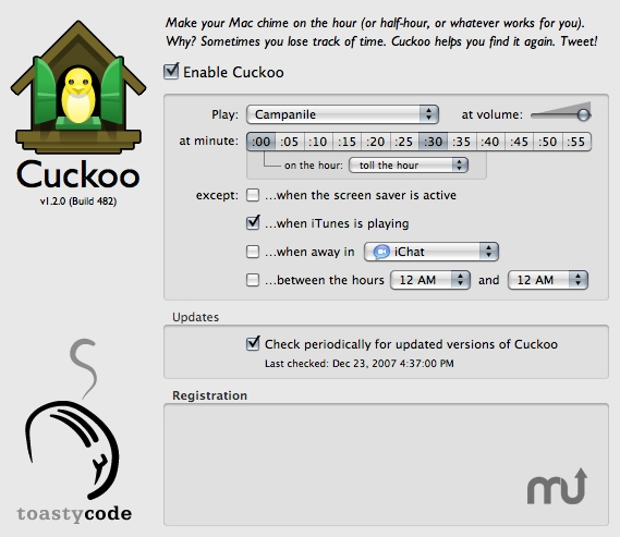 Screenshot 1 for Cuckoo
