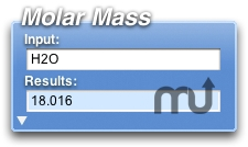 Screenshot 1 for Molar Mass