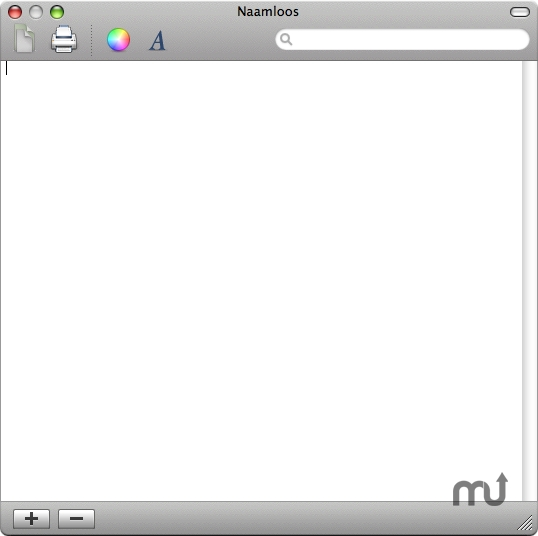 Screenshot 1 for Mac OS X News WordPad
