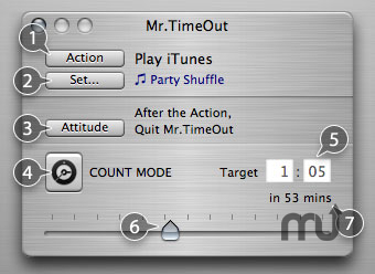 Screenshot 1 for Mr.TimeOut