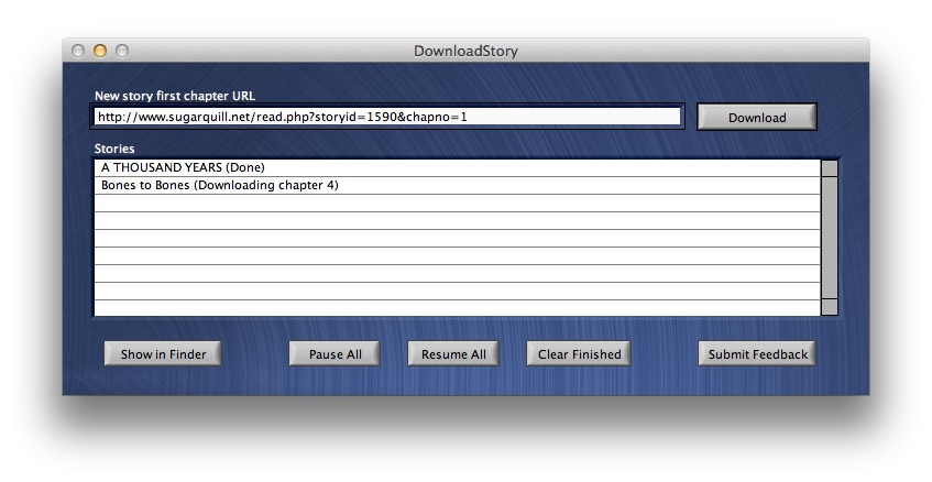 Screenshot 1 for DownloadStory
