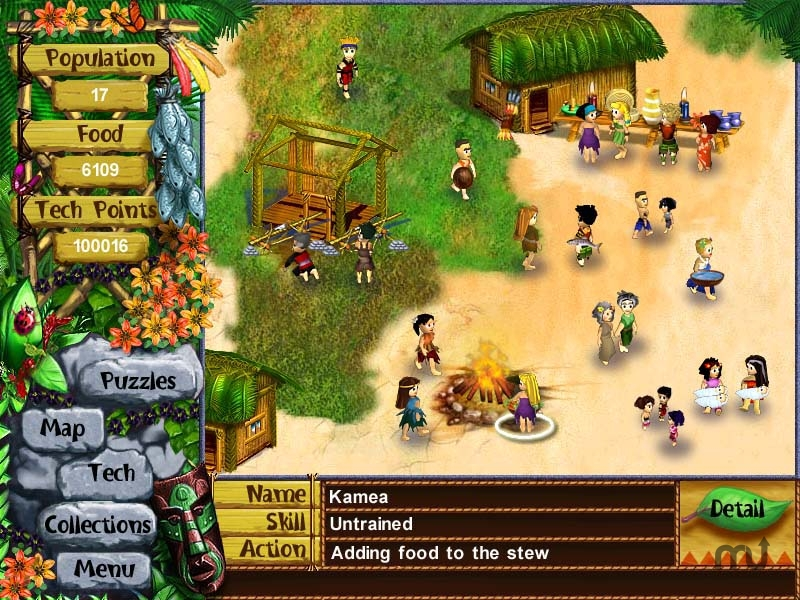 Screenshot 1 for Virtual Villagers: The Lost Children