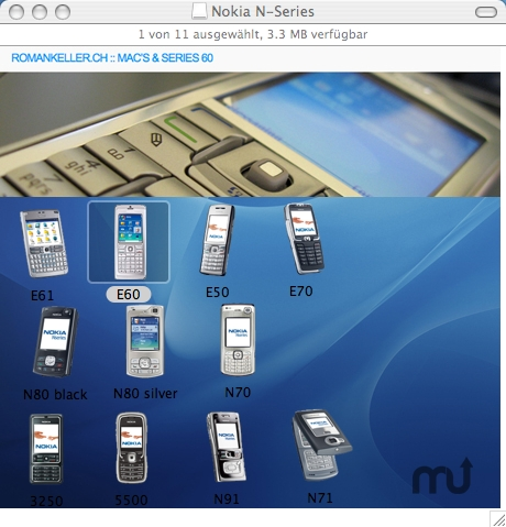 Screenshot 1 for Nokia Icons