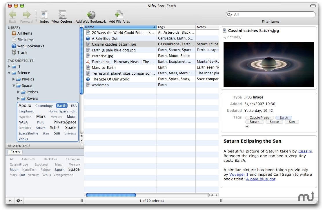 Screenshot 1 for Nifty Box