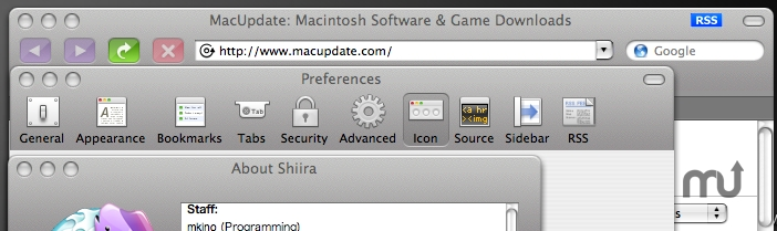 Screenshot 1 for Shiira Unified Metal
