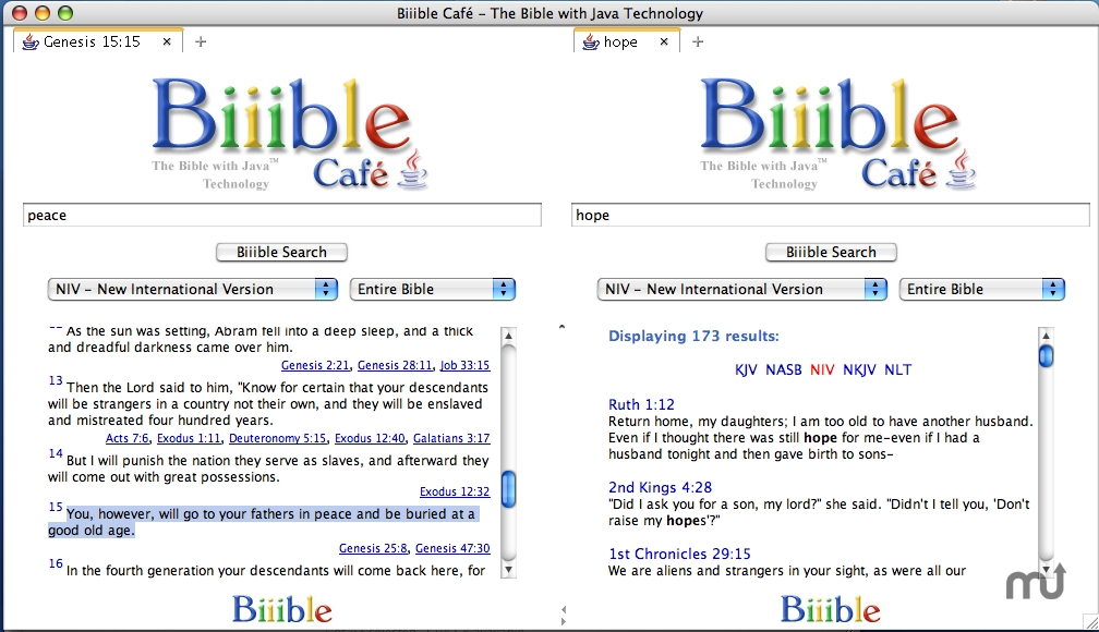 Screenshot 1 for Biiible Cafe