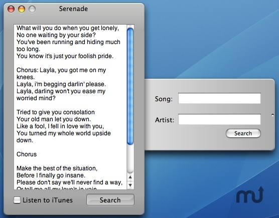 Screenshot 1 for Serenade