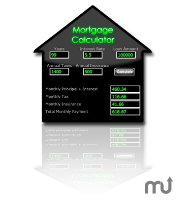 Screenshot 1 for Mortgage Calculator