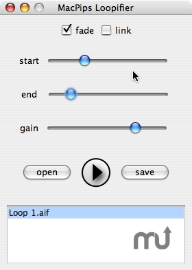 Screenshot 1 for MacPips Loopifier for Garageband