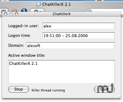 Screenshot 1 for ChatKillerX