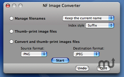 Screenshot 1 for NF Image Converter