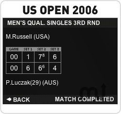 Screenshot 1 for US Open 2006