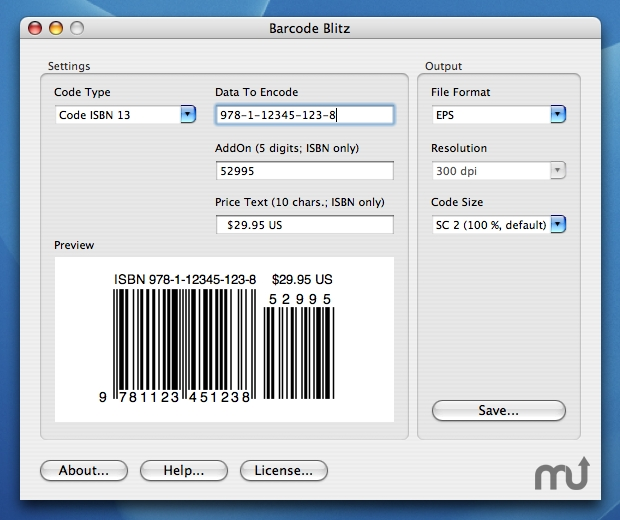 Screenshot 1 for Barcode Blitz