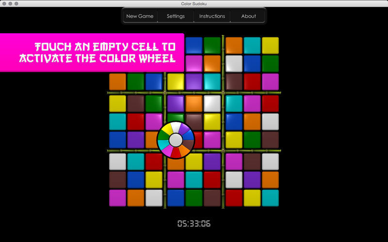 Screenshot 1 for Color Sudoku