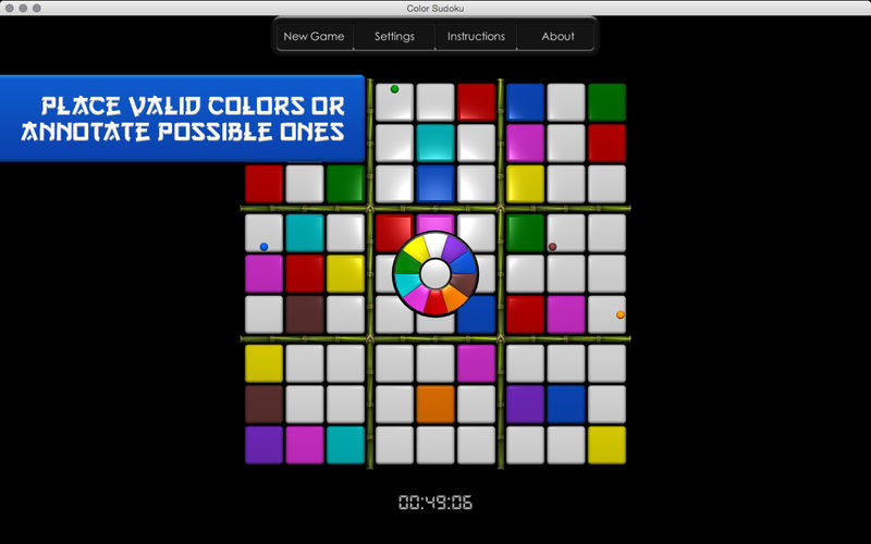 Screenshot 2 for Color Sudoku