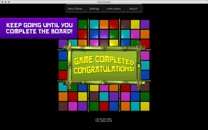 Screenshot 4 for Color Sudoku