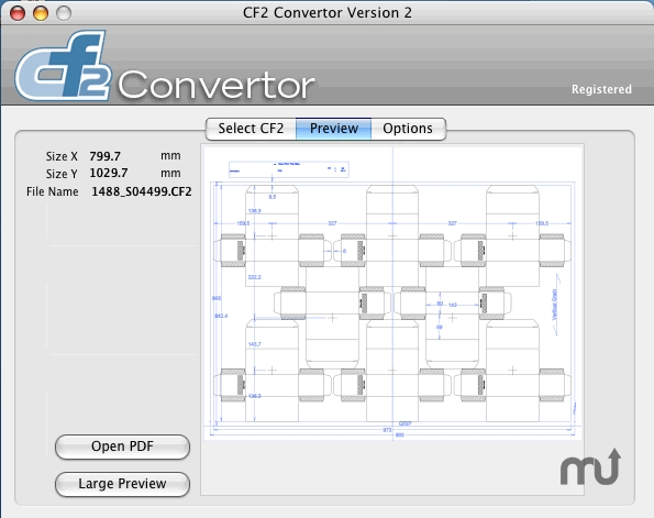 Screenshot 1 for CF2 Convertor