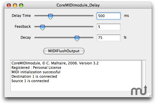 Screenshot 1 for CoreMidiModule