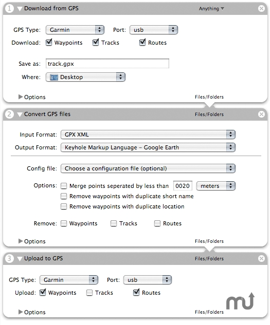 Screenshot 1 for GPS Automator Actions