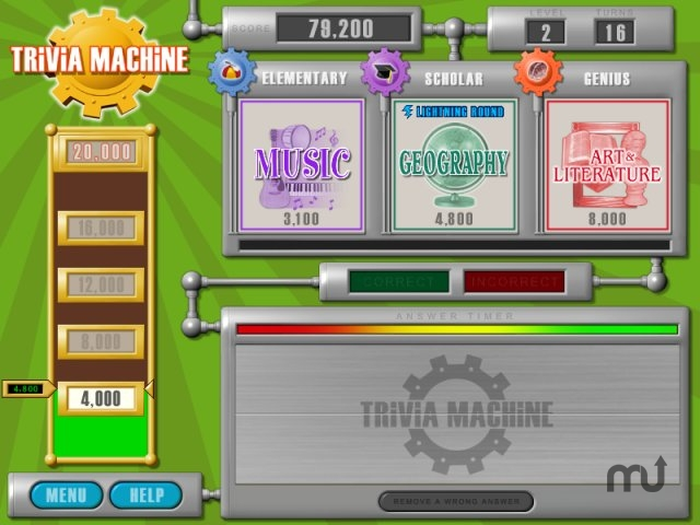 Screenshot 1 for Trivia Machine