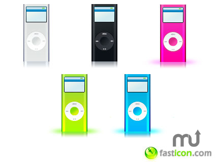 Screenshot 1 for iPod nano Icons