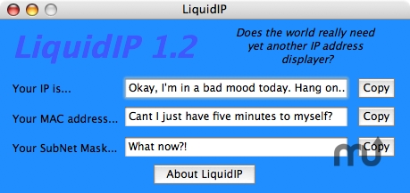 Screenshot 1 for LiquidIP