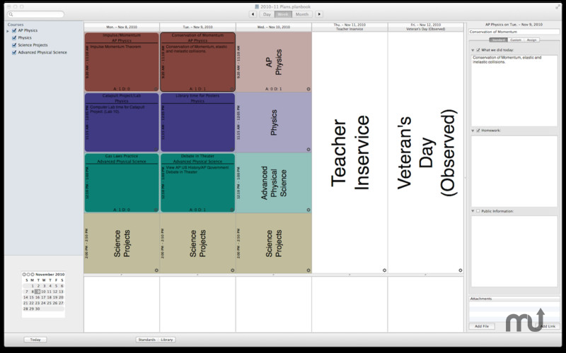 Screenshot 1 for Planbook