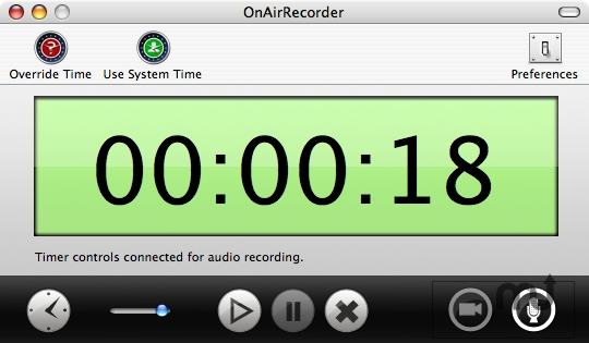 Screenshot 1 for OnAirRecorder