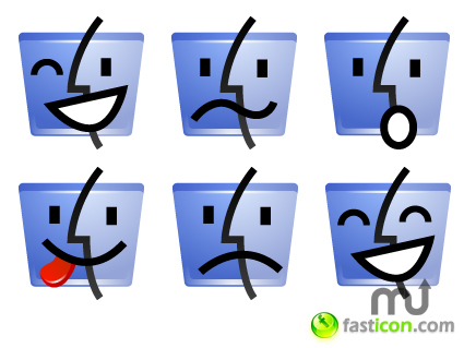 Screenshot 1 for Finder Emoticons