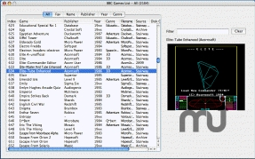 Screenshot 1 for Mac BBC Games List