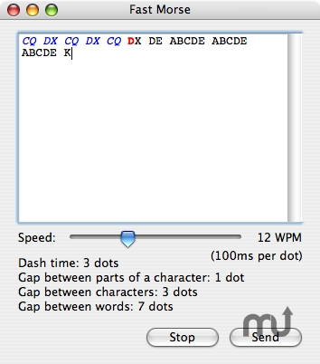 Screenshot 1 for Fast Morse