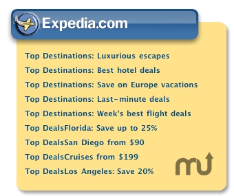 Screenshot 1 for Expedia Deals