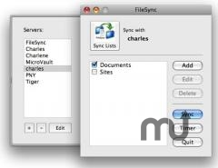 Screenshot 1 for FileSync