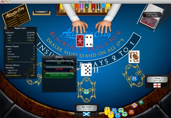 Screenshot 1 for World of Blackjack