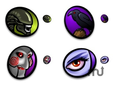 Screenshot 1 for Bride of Macabre Halloween Icons