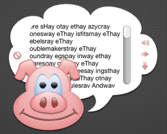 Screenshot 1 for Pig Latin Translator