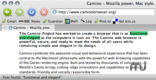 Screenshot 1 for CaminoSpace