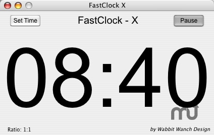 Screenshot 1 for FastClock X