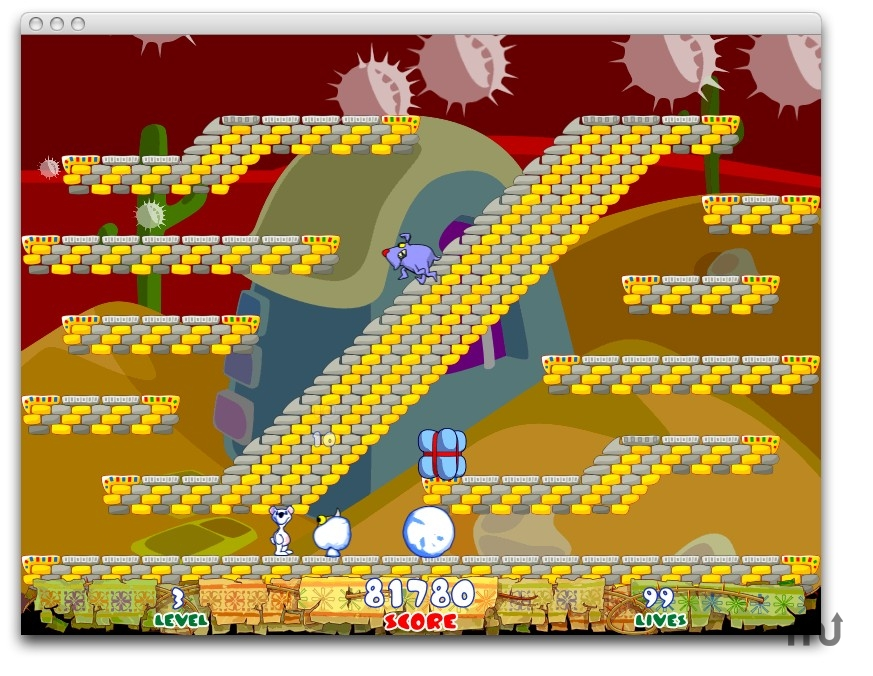 Screenshot 1 for Snowy: The Bear's Adventure