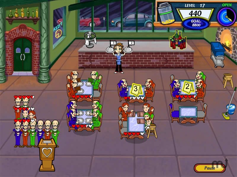 Screenshot 1 for Diner Dash 2: Restaurant Rescue