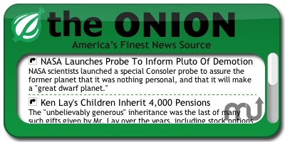 Screenshot 1 for The Onion Headlines Widget
