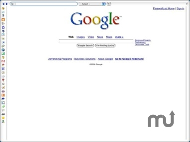 Screenshot 1 for Goggle Browser Widget