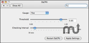 Screenshot 1 for DyCPU