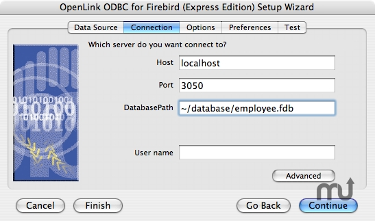 Screenshot 1 for OpenLink ODBC Driver for Firebird